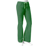 Maven Women's Blossom Multi Pocket Utility Cargo Pant- Hunter Green