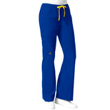 Maven Women's Blossom Multi Pocket Utility Cargo Pant - Royal Blue