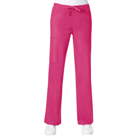 Maevn Core Cargo Pant- Petite Length Hot Pink