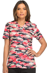 Printed Color Medical Tops