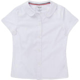 French Toast Toddlers/Girls Peter Pan Collar Blouse White