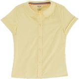 French Toast Toddlers/Girls Peter Pan Collar Blouse Yellow
