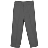 Genuine Twill Flat-Front Pant Charcoal