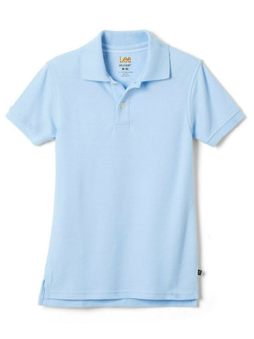 Lee Uniform Classic Fit Polo Light Blue