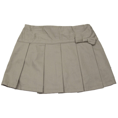 U.S Polo Association Toddler Pleated Scooter Khaki