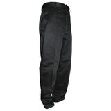 Classic Mens Flat Front Dress Pants Black
