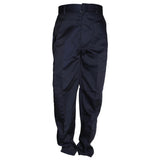 Classic Mens Flat Front Dress Pants Navy