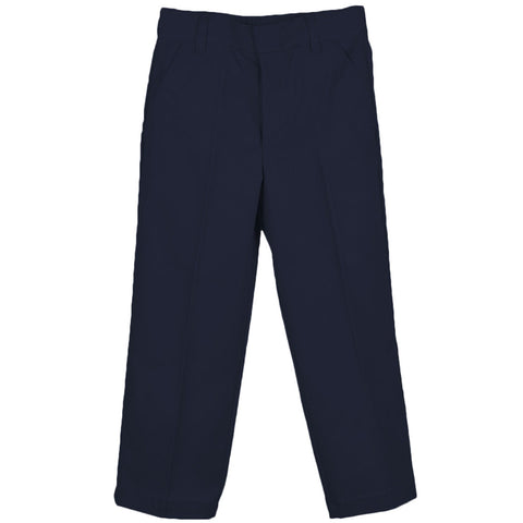 Genuine Twill Flat-Front Pant Navy