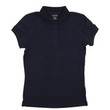 Classic Girls Junior Short Sleeve Polo Shirt Navy