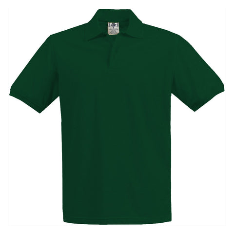 School Uniform Kids Pique Polo Hunter Green