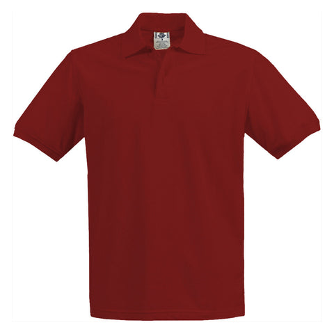 Tanvir School Uniform Kids Pique Polo Red