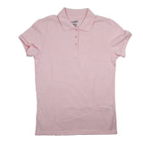 Classic Girls Junior Short Sleeve Polo Shirt Pink