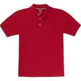 French Toast Toddlers Short Sleeve Pique Polo Sizes 2T - 4T Red
