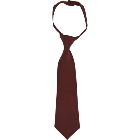 French Toast Adjustable Tie Burgundy School Uniform