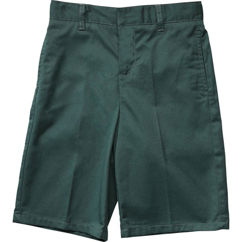 French Toast Flat Front Adjustable Waist Short Green