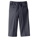 Smith's American Big Boys' Flat Front Twill Pant Gray