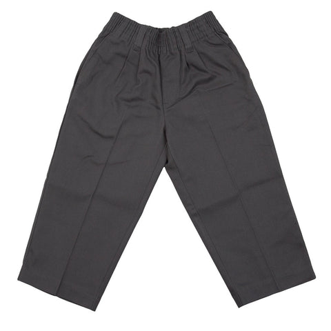 Universal School Uniforms Pull-On Toddler Pant Gray