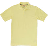 French Toast Toddlers Short Sleeve Pique Polo Sizes 2T - 4T Yellow