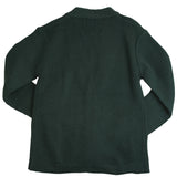 French Toast Anti-Pill V-Neck Cardigan Sweater Green