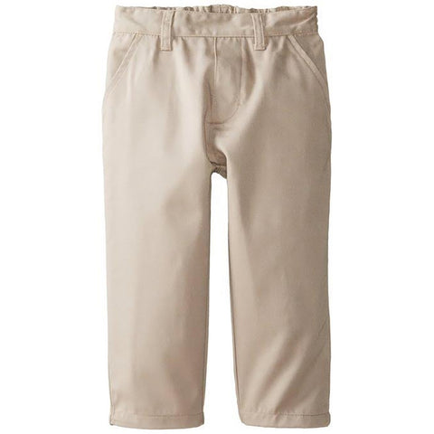 U.S. Polo Association Toddler's Flat Front Twill Pants </br>Size 2T - 4T