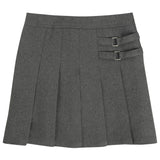 French Toast Uniforms Girls' Scooter Skort Grey
