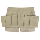 French Toast Uniforms Girls' Scooter Skort Khaki