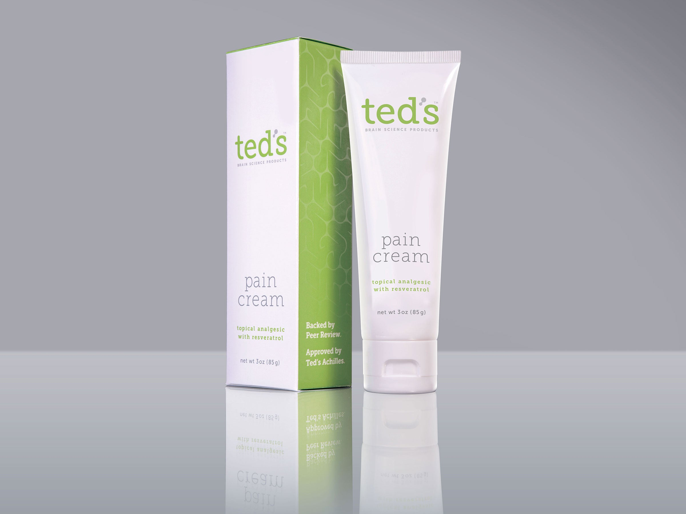 Ted's Pain Cream, one 3oz/85g tube