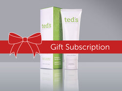 Ted's Pain Cream with Resveratrol monthly subscription (one year)