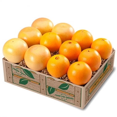 Valencias & Ruby Red Grapefruit - 4 Trays + Deluxe it!