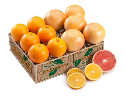 Navel Oranges & Ruby Red Grapefruit - 1 Tray