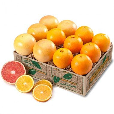 Navel Oranges & Ruby Red Grapefruit - 2 Trays + Deluxe It!