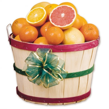 Basket of Navel Oranges