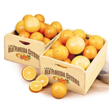 Old Florida Citrus Crate -Navels & Grapefruit