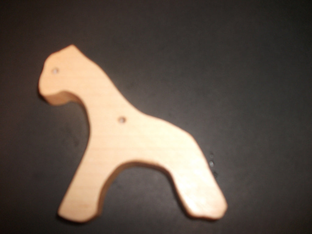 Giraffe Teether - Organic,Hard Maple 100% Safe and Natural For Your Baby
