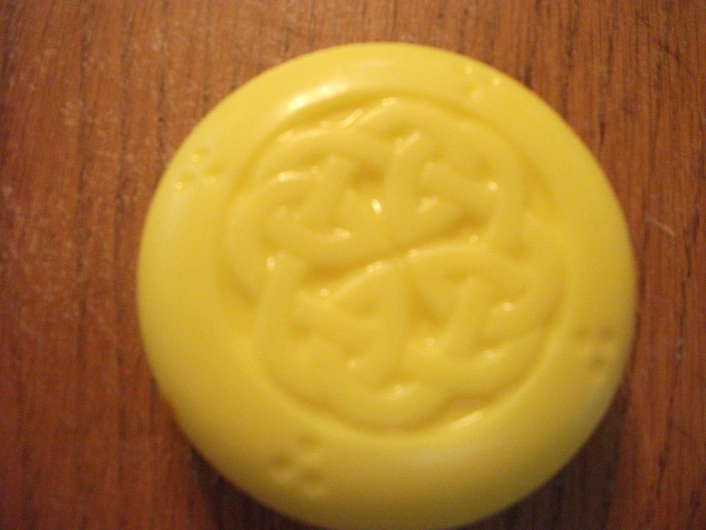 Celtic Square Knot Goat Milk Soap 4 oz Bar Sandalwood Scented
