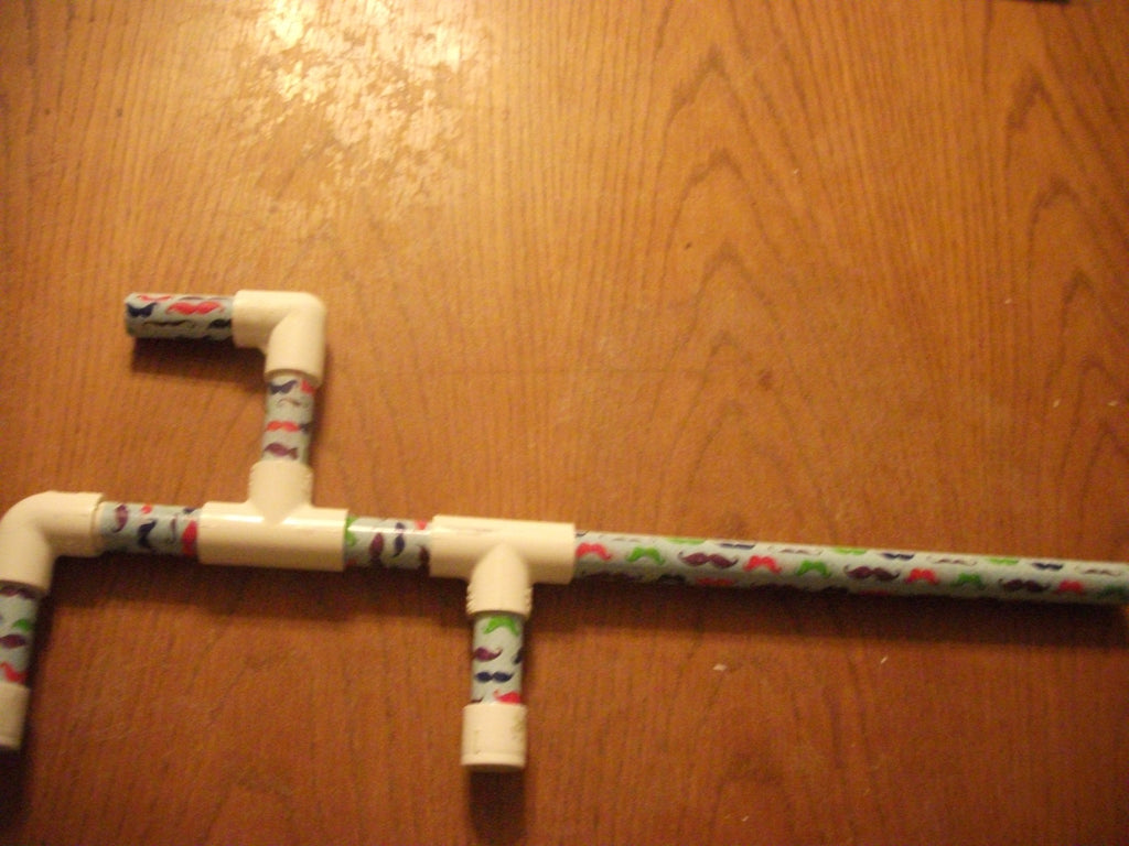 Toy Marshmallow Gun Marshmellow Color Mustache's Made in USA