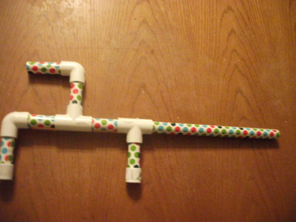 Toy Marshmallow Gun Marshmellow Green Red Blue Pokadots  Made in USA