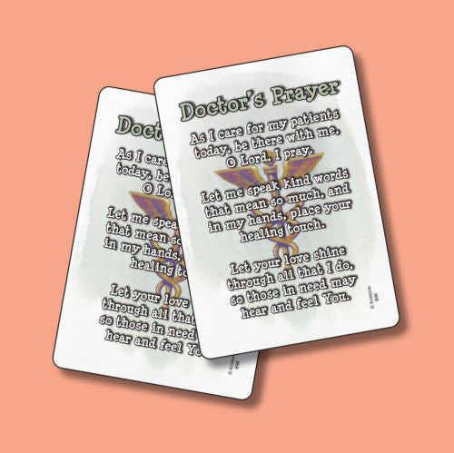 Doctor's Prayer Poem Great Thank You Gift
