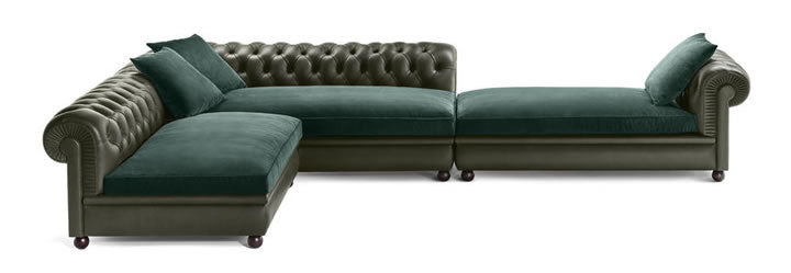 Chester Line Sectional Poltrona Frau