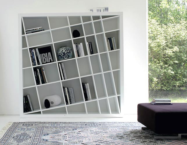 Giano K Bookcase  by ESTEL, available at the Home Resource furniture store Sarasota Florida