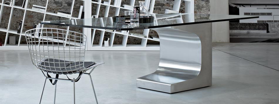 Niemeyer Desk  by ESTEL, available at the Home Resource furniture store Sarasota Florida