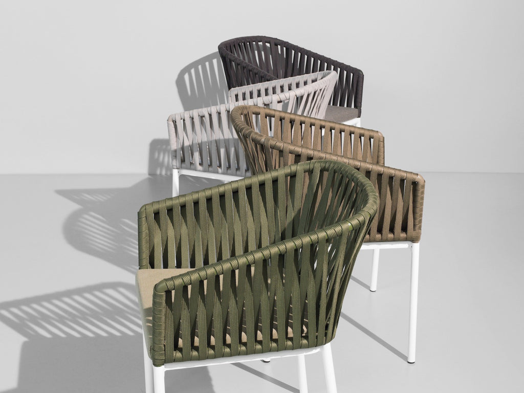 Bitta Chair  by Kettal, available at the Home Resource furniture store Sarasota Florida