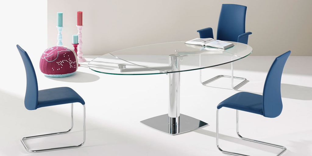 TITAN DINING TABLE  by DRAENERT, available at the Home Resource furniture store Sarasota Florida