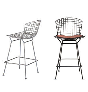 Bertoia Barstool by Knoll for sale at Home Resource Modern Furniture Store Sarasota Florida