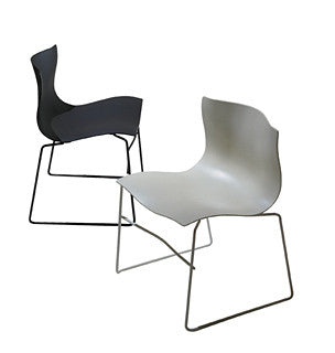 Handkerchief Stacking Chair  by Knoll, available at the Home Resource furniture store Sarasota Florida
