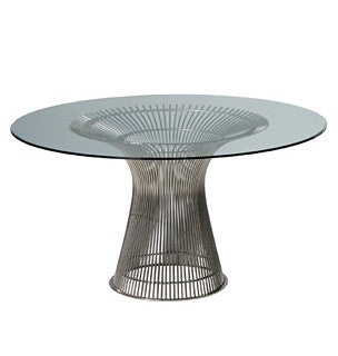 Platner Dining Table  by Knoll, available at the Home Resource furniture store Sarasota Florida