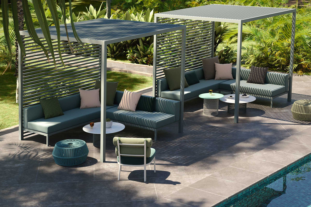 LOUNGE PAVILION  by Kettal, available at the Home Resource furniture store Sarasota Florida