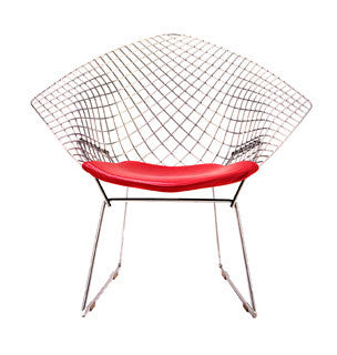 Bertoia Diamond Lounge Seating by Knoll for sale at Home Resource Modern Furniture Store Sarasota Florida