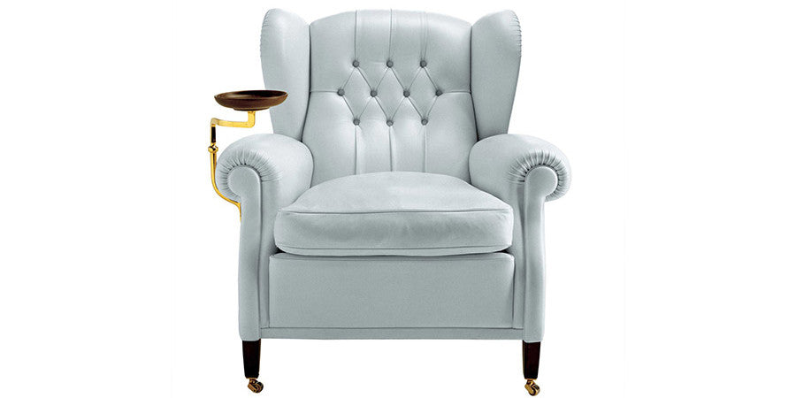 1919 Armchair  by Poltrona Frau, available at the Home Resource furniture store Sarasota Florida