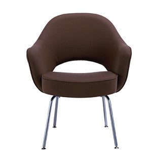 Saarinen Executive Chair with Tubular Leg by Knoll for sale at Home Resource Modern Furniture Store Sarasota Florida
